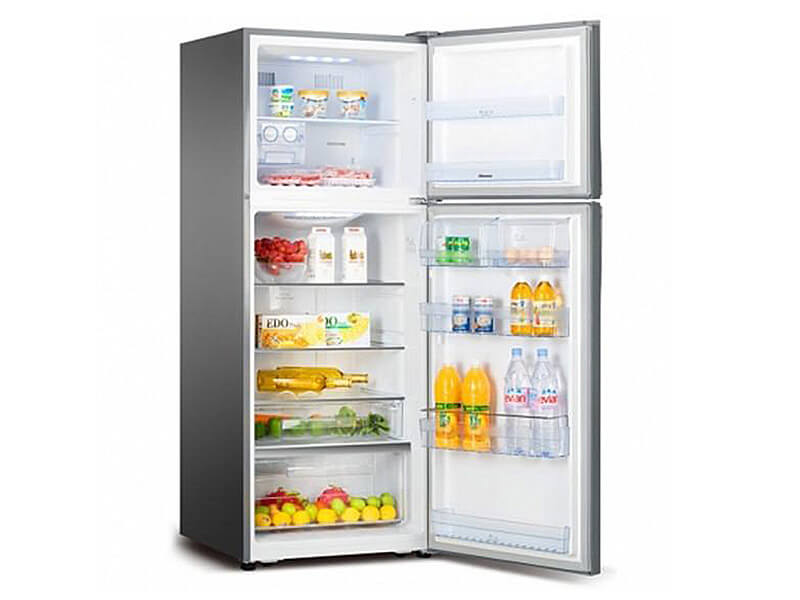 Hisense Double Door Fridge, Top Mount Freezer 295L, Frost-free – RT295N4DGN