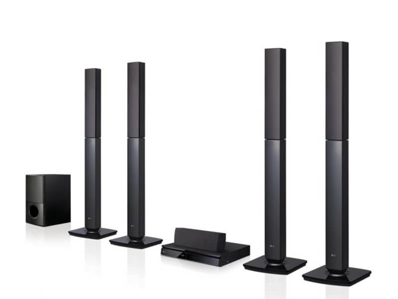LG 5.1Ch DVD Hometheatre System with 4 Tall Boy Speakers 1000W – LHD657