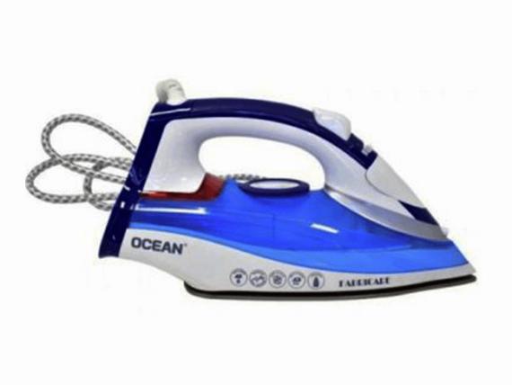 Ocean Steam Iron, non-stick, Blue, 2200 watts – OCSI2980Z Steam Irons Flat Irons