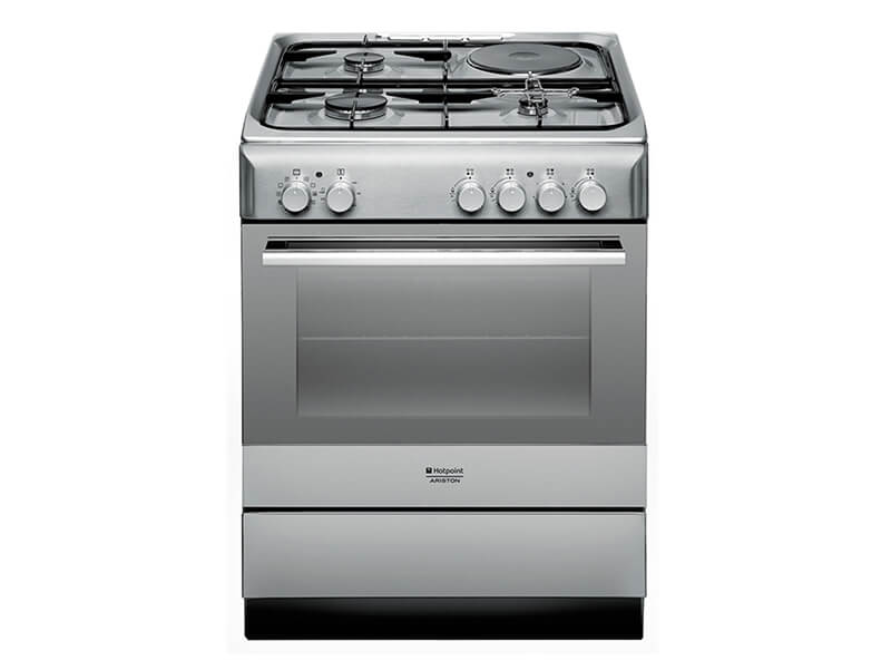 Ariston Cooker (3 Gas + 1 Electric + Elec. Oven & Grill) – A6MSH2FX