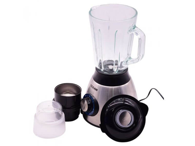 Ocean Smoothie Blender 550W with Glass Jar and Grinder – OCBL560G