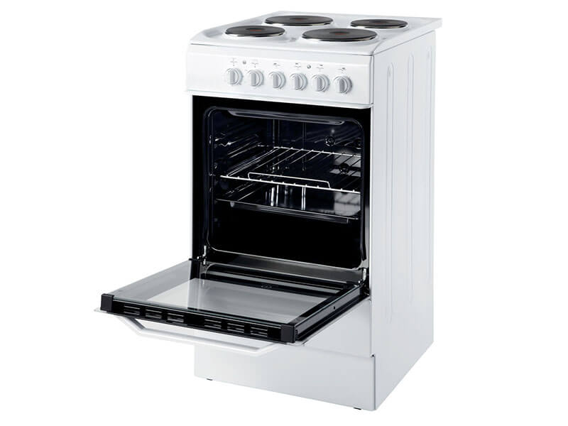 INDESIT Electric Cooker (4 Electric + Oven + Grill) – I5ESH1E(W)/EX