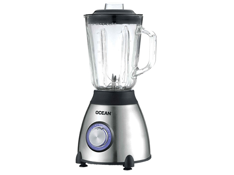 Ocean Smoothie Blender 550W with Glass Jar – OCBL560G