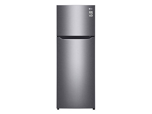 LG Double Door Fridge, 225L GN-B222SQBB