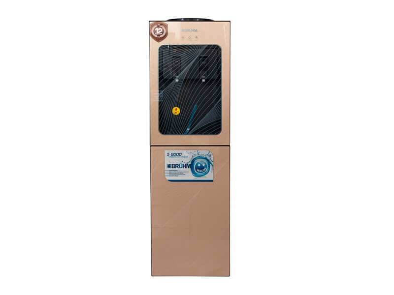 Bruhm BWD HC527R Hot & Cold Water Dispenser with 16Ltr Fridge
