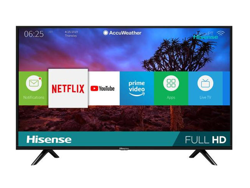 Hisense 40 Inch Android Smart HD LED TV – 40N2182PW