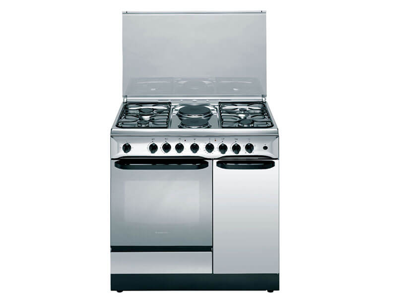 Ariston Cooker with 4 Gas burners + 2 Electric plates + Electric Oven + Grill - C911N1X