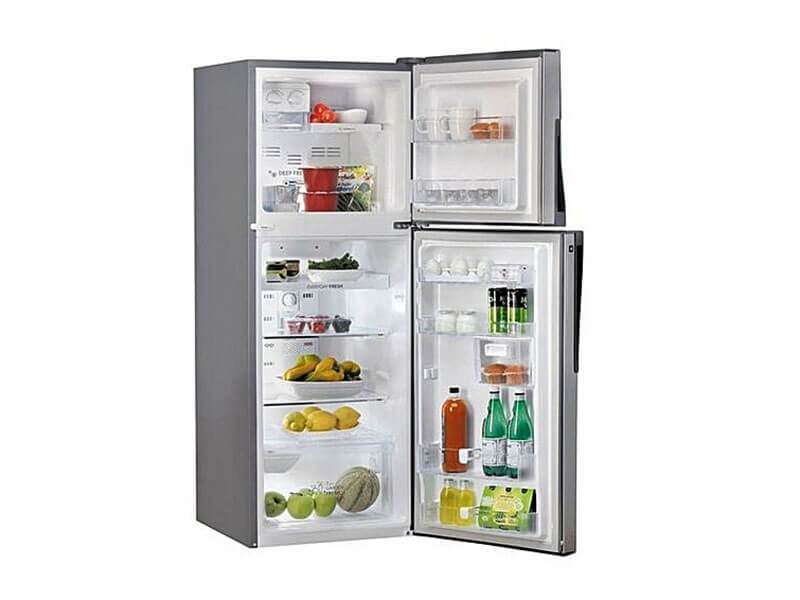 Whirlpool Double Door Fridge WTM302RSL, 242 L
