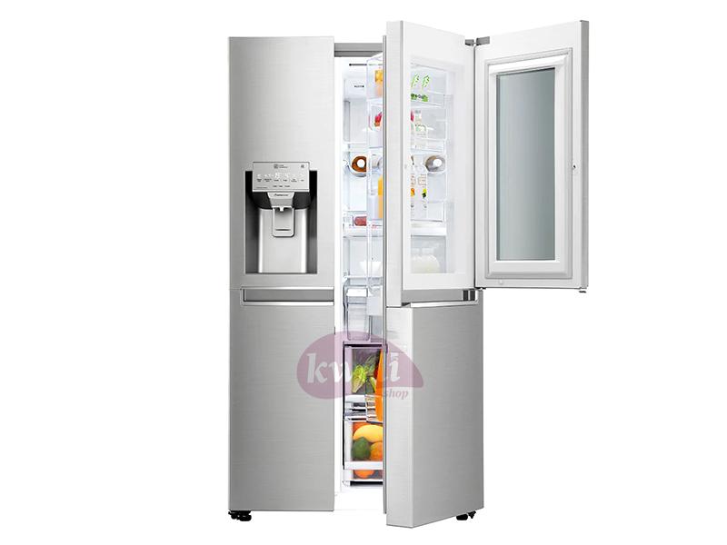LG Door-in-Door InstaView Refrigerator 668L - GC-X247CSA; Inverter Linear Compressor, DoorCooling+™ Refrigerator