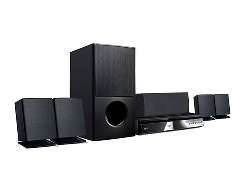 LG Hometheatre System with Short Speakers LHD627