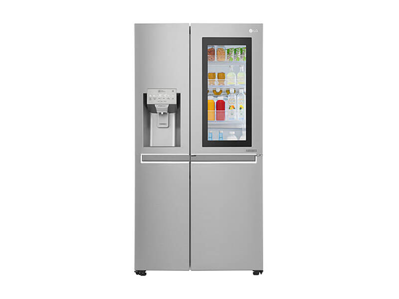 Knock twice, See Inside; LG Door-in-Door InstaView Fridge 668L – GC-X247CSA