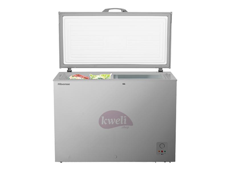 Hisense Chest Freezer, 400-liters – FC-40DT4SB1; Sliding Glass Chest Freezers chest freezers