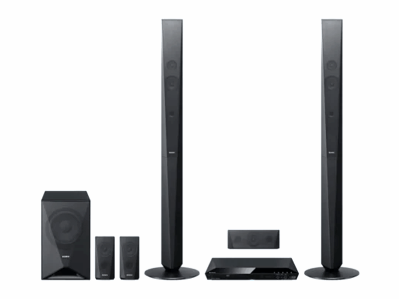 Sony 5.1Ch DVD Home Theatre System with Bluetooth 1000W – DAV-DZ650 Home Theatre Systems Home Theatre