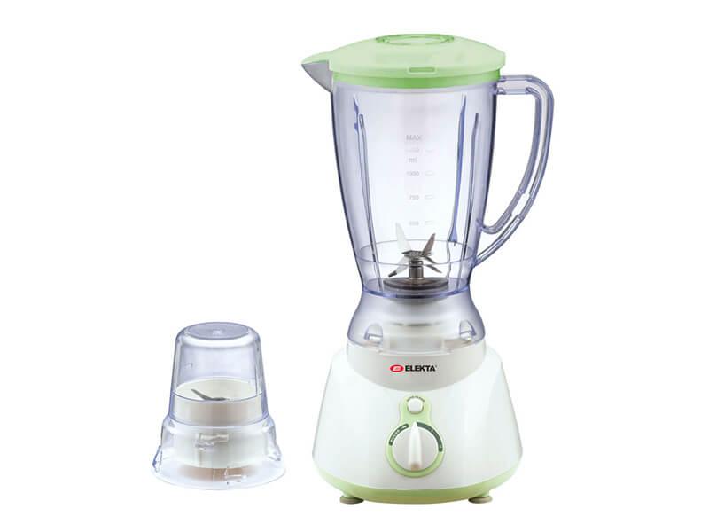 Elekta 1.5L Juice Blender +1 Grinder, Plastic Jar, 327W – EFBG-1586