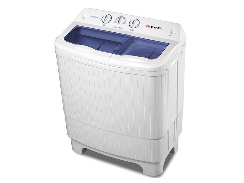 Elekta 7kg Twin Tub Washing Machine, 4 Stars EWM-7702MKII