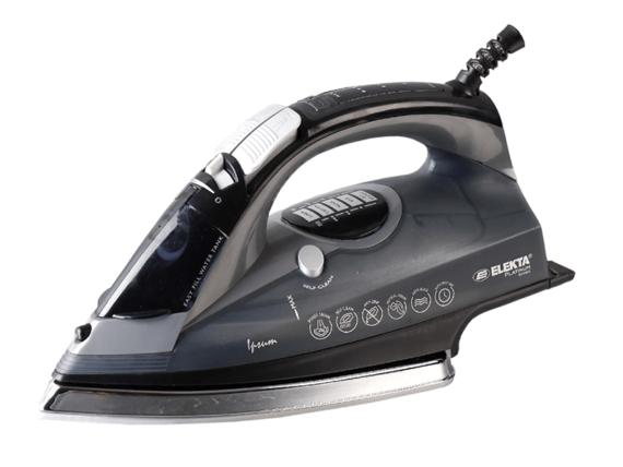 Elekta Platinum Smart Iron + Digital Display, 2400 watts – EP-SI-851 Steam Irons