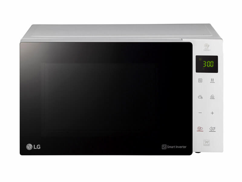 LG NeoChef Grill Microwave Oven MH6535GISW - 25L; Smart Inverter and Grill