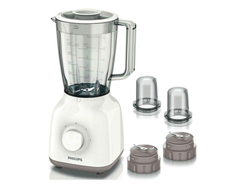 Philips Smoothie Blender + 2 Grinders HR2113, 1.5L, 400W
