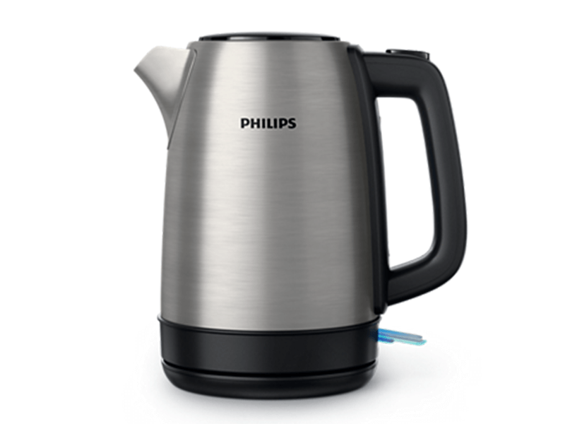 Philips Stainless Steel Electric Kettle HD9350, 1.7L, 2200W