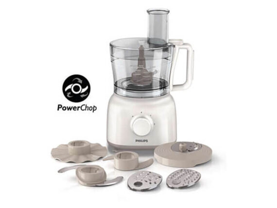Philips Daily Food Processor + 15 Functions – HR7627, 650W Choppers
