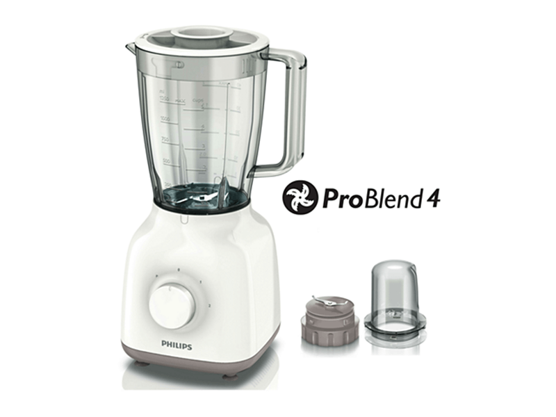 Philips Smoothie Blender + Grinder HR2058, 1.5L, 400W