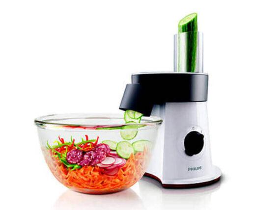 Philips Viva Salad Maker (Slicer and Chopper) – HR1388 Choppers Salad Cutter