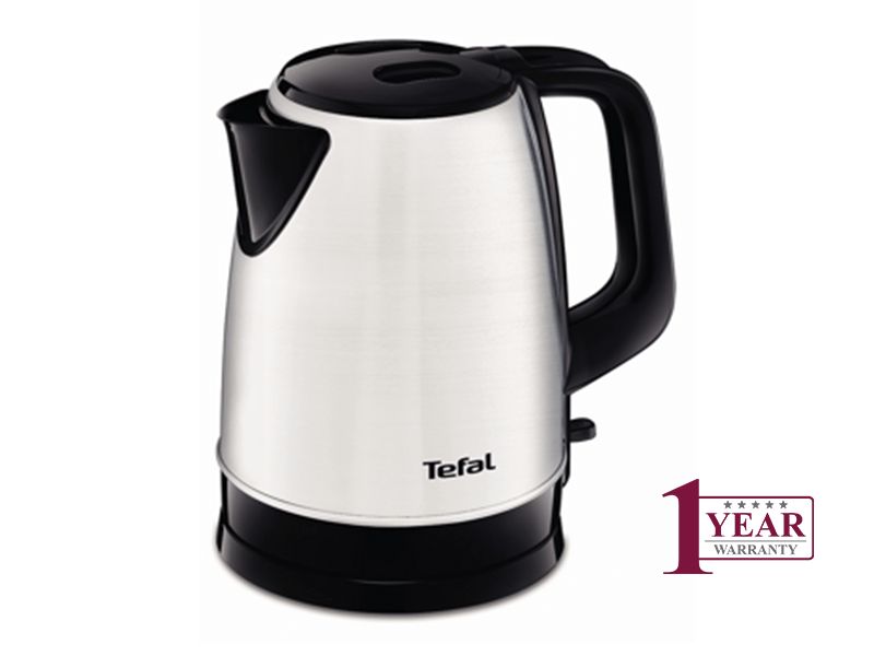 Tefal 1.7L 2400W Stainless Steel Kettle KI150D27