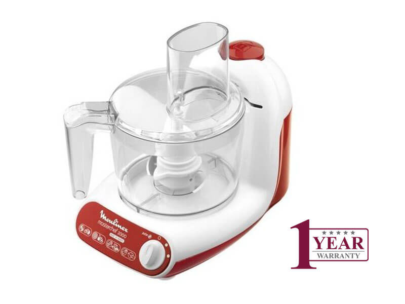 Moulinex Masterchef 2000 Food Processor FP2111BA, 500W