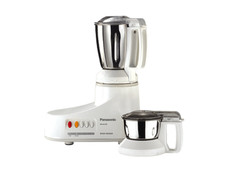 Panasonic Mixer Grinder with Steel Jars MX-AC210, 1000W