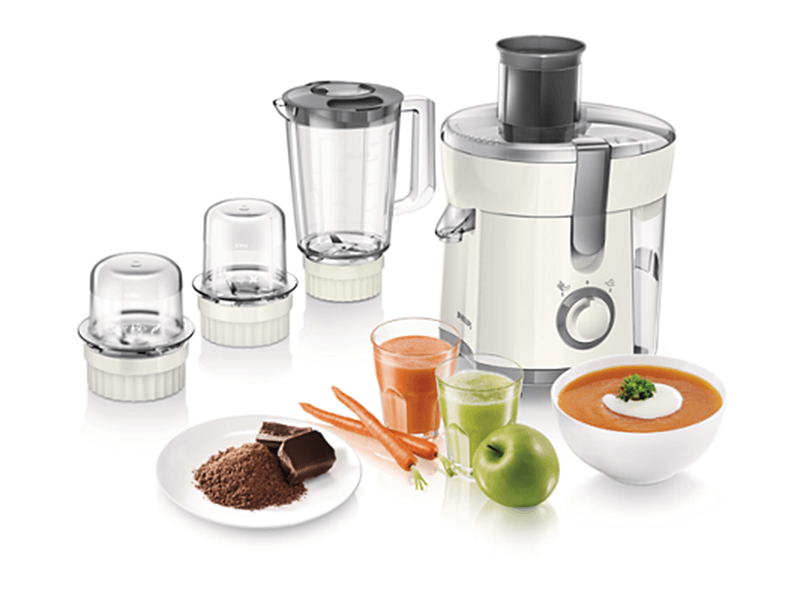 Philips Viva Collection Juicer, Blender, Grinder & Chopper HR1847
