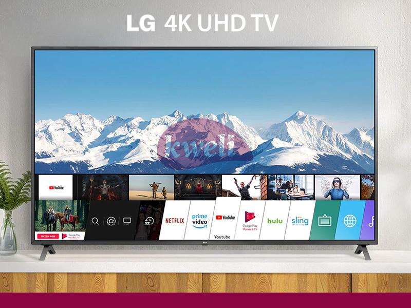 LG 65 Inch 4K UHD WebOS Smart TV 65UN7340PVC, UN73 Series, 4K Active HDR WebOS Smart AI ThinQ