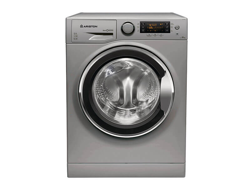 Ariston 11kg Washing Machine with Steam Feature – RPD11657DSX; Inverter Motor Laundry & More front load washing machine