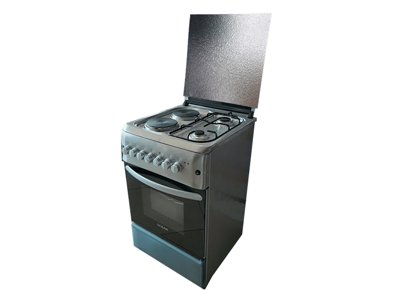 Ocean Combination Cooker (2 Gas +2 Elec.), Electric Oven + Rotisserie  OCER 5522-5IC