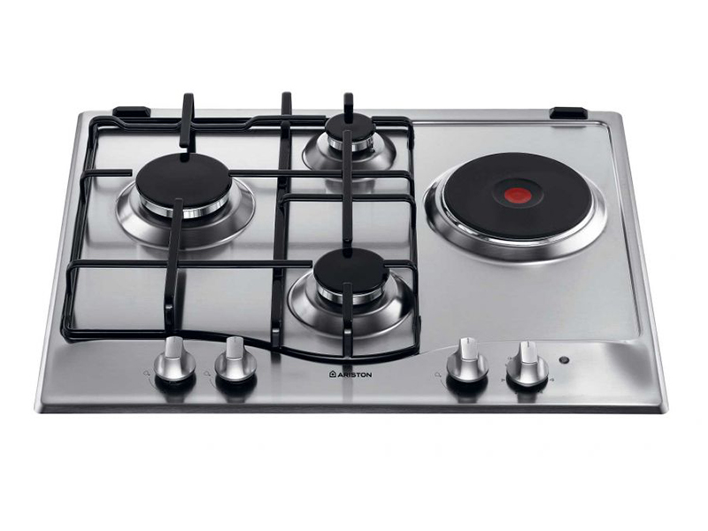 Ariston Built In Gas & Electric Hob Stainless Steel –  PC631X
