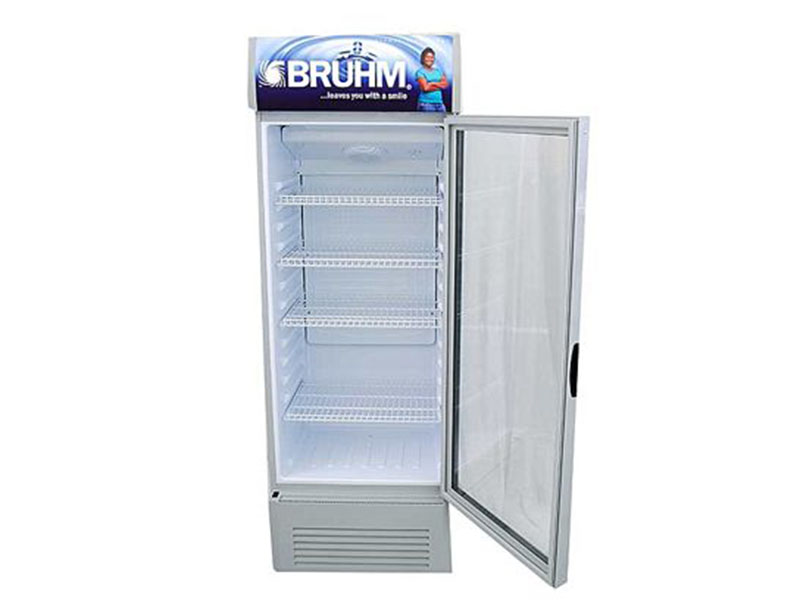 Bruhm Single Door Beverage Cooler – Display Refrigerator 300L – BFV300SD