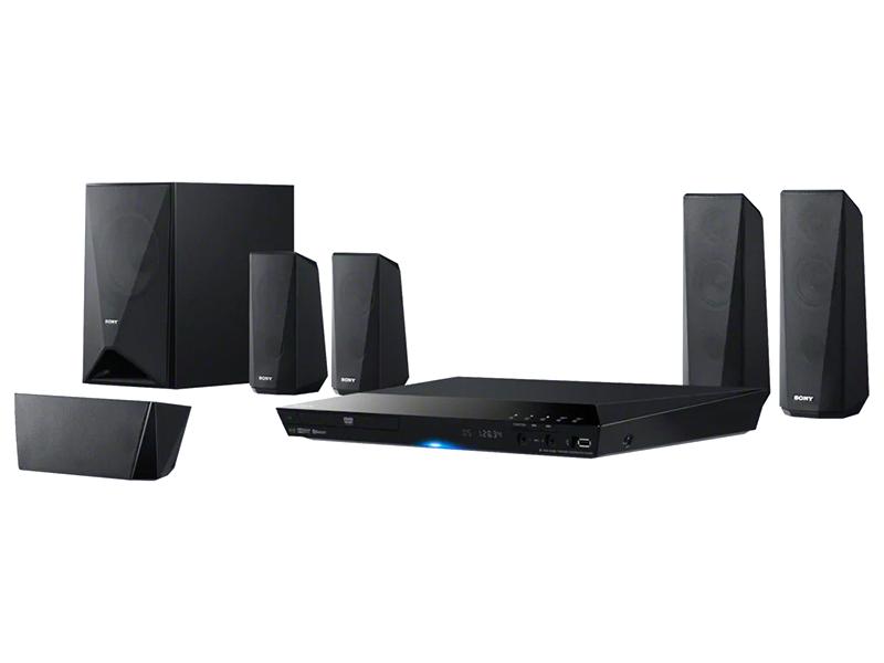 Sony 5.1Ch DVD Home Cinema System with Bluetooth®, 1000W – DAV-DZ350