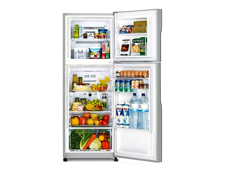 Hitachi 205L Double Door Refrigerator with Inverter Compressor – RH290PUN4KSLS