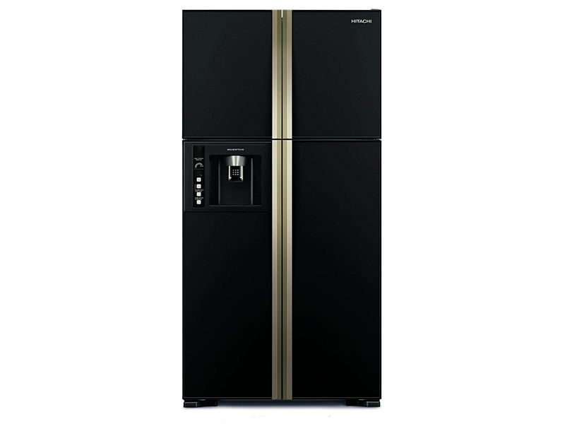 Hitachi 720L Side By Side, 4-Door Inverter Control Refrigerator + Water Dispenser – RW720FPUQ1XGBW