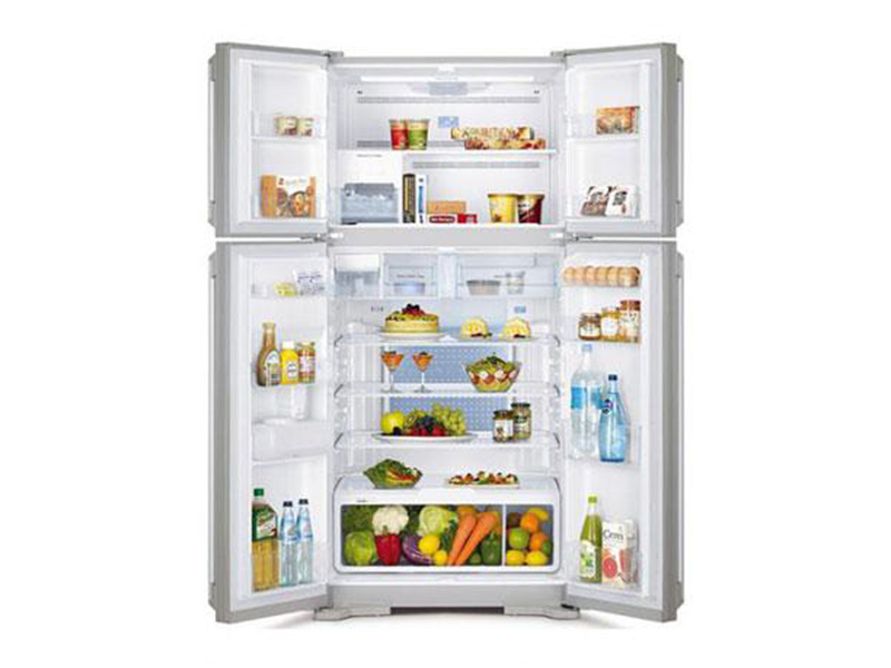 Hitachi 720L Side By Side, 4-Door Inverter Control Refrigerator + Water Dispenser – RW720FPUQ1XGBW