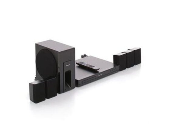 Panasonic 5.1Ch DVD Home Theater w/ Subwoofer 300W – SC-XH105 Home Theatre Systems