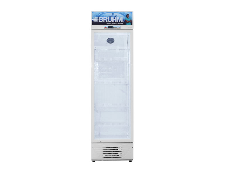 Bruhm 400L Single Door Beverage Cooler – Display Refrigerator – BFV-400SD