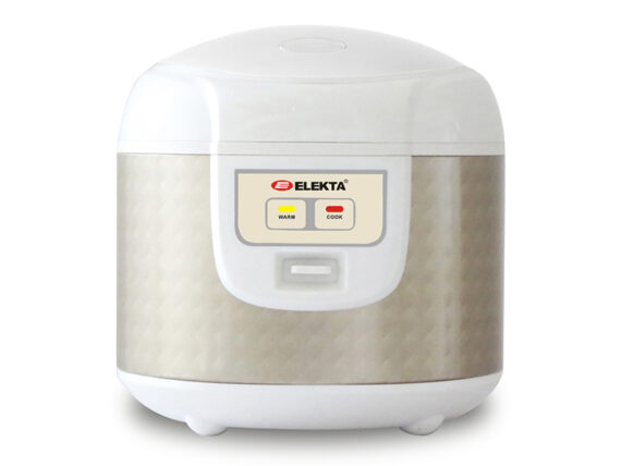 Elekta 1.8L Rice Cooker Gold with Non-stick Bowl, 700w – ERC-188G Rice Cookers
