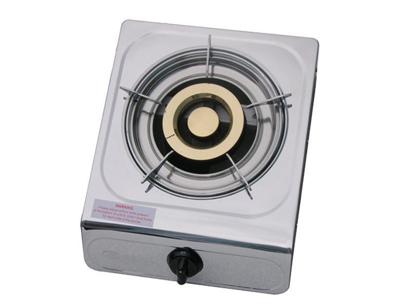 Elekta Single Burner Gas Stove Stainless Steel, Auto Ignition – EGS-1N