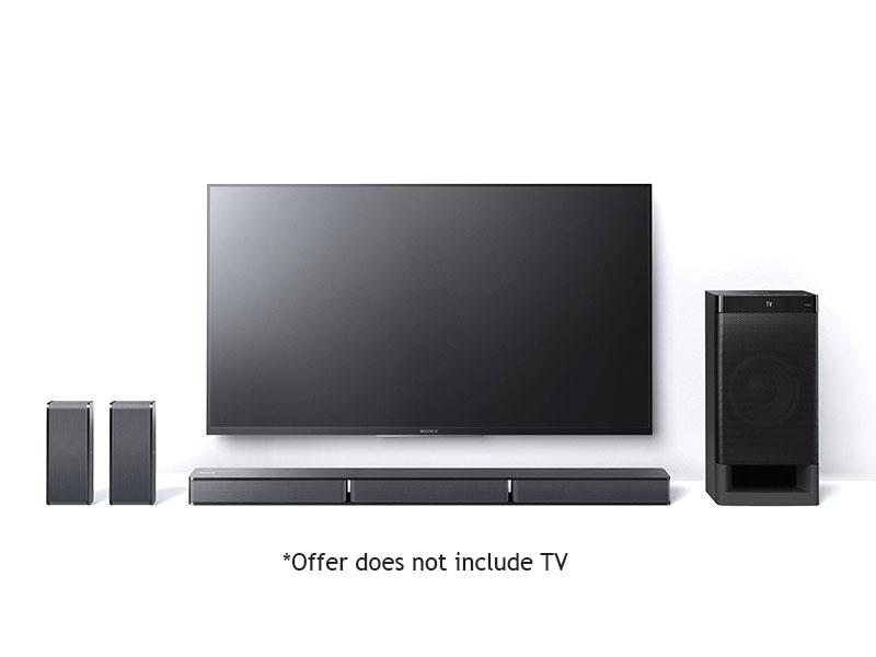 Sony 5.1. Ch MusicCast SoundBar + Wireless Subwoofer & Bluetooth – HTRT3