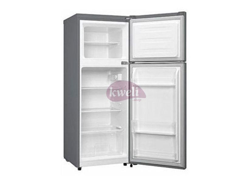 Hisense 170-litre Double Door Refrigerator RD17DR; Top Mount Freezer Double Door Fridges