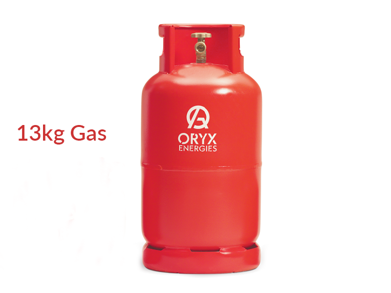 Oryx Gas 13kg (New Cylinder and Gas)