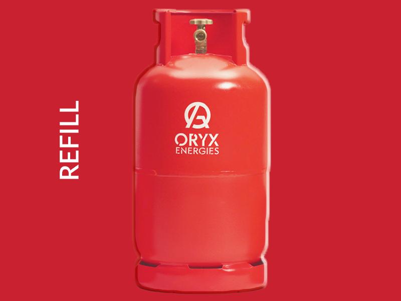 Oryx Gas Refill – 13kg