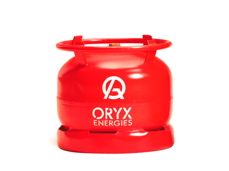Oryx Gas 6kg (New Cylinder and Gas)
