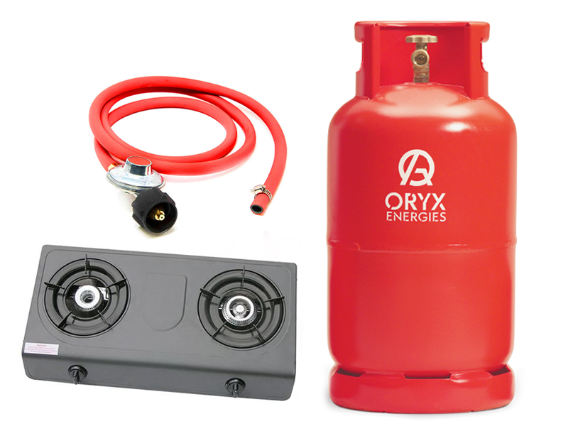 Oryx Gas 13kg New Full Set – Ready to Cook