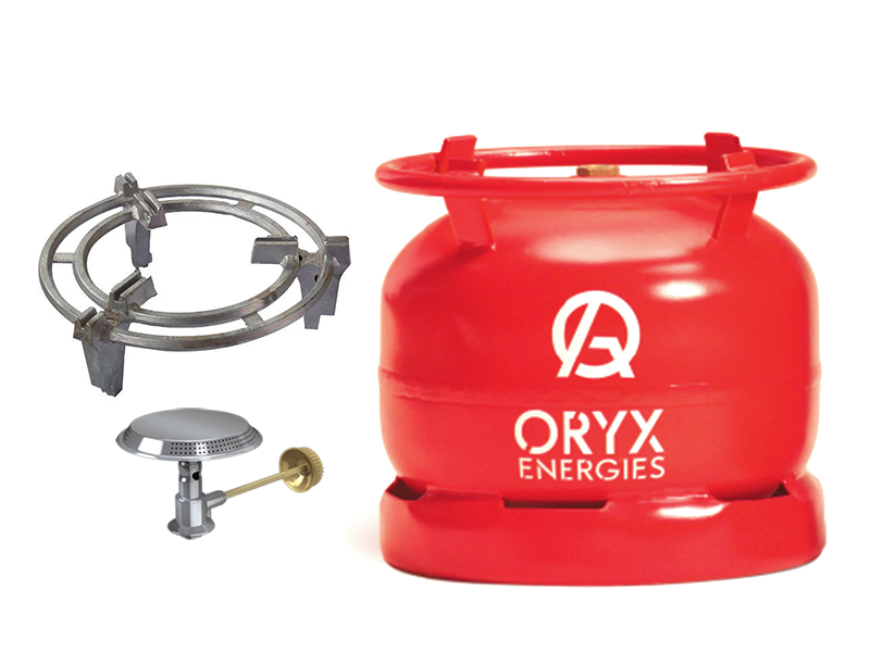 Oryx Gas 6kg New Full Set – Ready to Cook